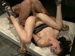 Анальный секс, Садо мазо, Брюнетки, Эмо, Экстремальный секс, Наказание, Жесткий секс, Рабыни