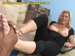 Breasty Eager mom Ginger Lynn is an old time porn star still getting it