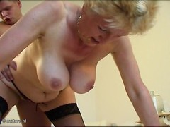 Bored old ass grannies in amateur and pro porn vids