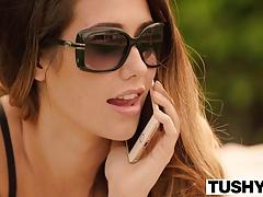 TUSHY Eva Lovia movie part 5 FIRST double penetration