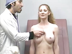 on reception at the doctor