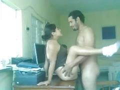 Pakistani Couple Explicit Sex On A Table