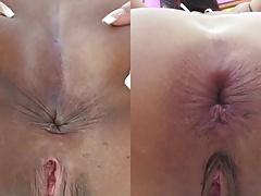 sxs Asshole anal gaping