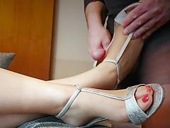 Fétiche des pieds, Branlette thaïlandaise, Hd, Mère que j'aimerais baiser, Nylon, Jarretelles