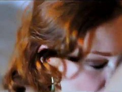 Redhead Video With Creole Earrings
