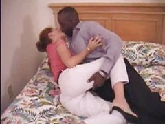Eager mom Mature Rookie Mom Making Love To Her Black Boy