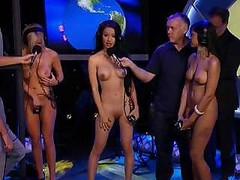 Worlds Strongest Undressed Female Contest