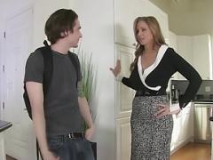 StepMom Julia Ann Makes love Stepson in Ass!
