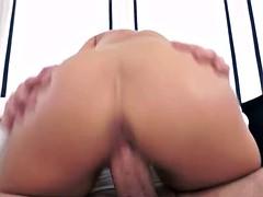Angelina Wild Footjob and Wild Cock Ride