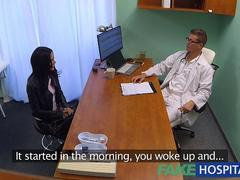 FakeHospital Horny Russian babe strips and fucks her doctor