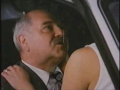 Mature Dude With Hooker In Car