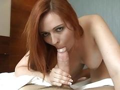 Redhead Broad Sucks