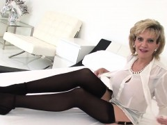Unfaithful english mature gill ellis showcases her heavy tit