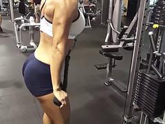 fitness model very very hot ass