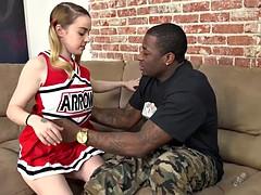 Verga grande, Sexo duro, Interracial