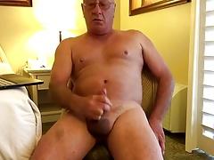 Daddy in cam cum