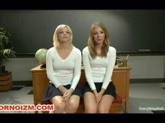 Rectal students slaves are caned spanked cleaned and backdoor stretched with speculum strapon by hers