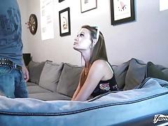 JamesDeen.com - Dick Sucking Mouth Amateur Fucked Rough