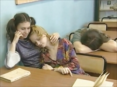 Lesbiana, Pelirrojo, Ruso, Maestra