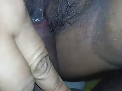 Desi milf with hairy wet pussy being fucked with big boobs