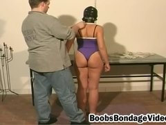 two ladies bound suspended and flogged