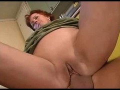 Granny Makes love in the Lounge then the Kitchen