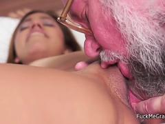 Old Guys Are Best in Licking and Banging