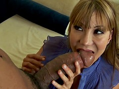 Naughty milf Ava Devine gets anally black hammered