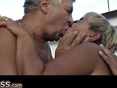 OmaPass Old grannies sucking dick and masturbating wet pussy