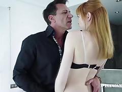 Red Head Teen Aurora Cheats On her Boyfriend