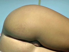Nudist beach spread legs shaved pussy blonde brunette voyeur