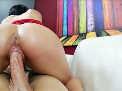Lovely babe pov fucked on all fours