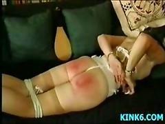 Punish a hot slave kitten