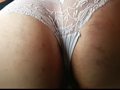 Tan Tights and Lacy Knickers