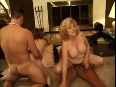 Classic Hot Old Cougars Foursome