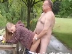 Smoking hot Gal Fucked By Mature Dirty Lad