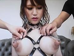 アジア人, フェティッシュ, 淫乱熟女, 乳首