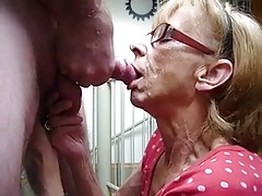 Mature Wife Sucking Dick