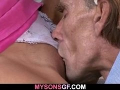 Dad got lucky with son's young girlfriend