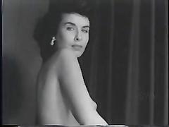 1950s nymph unclothes