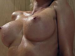 Beautiful Girls in the sauna