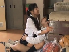 Chick from japan with great body is having sex with sexy pal