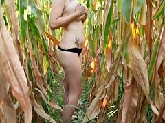 Big Tits On The Field