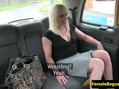 British cabbie lesbian licked after fingering