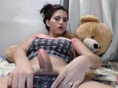 Amateur, Masturbation, Transsexuelle, Solo, Webcam