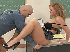 Professor Morgan Reigns enjoys good fuck