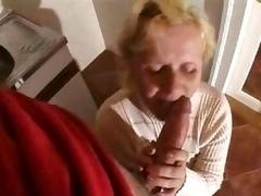 Blonde Granny Fucked
