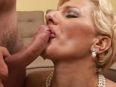 Excited milf