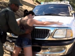 Police lady high definition Latina Babe Fucked By the Law