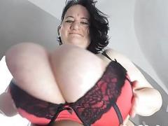 Sunniva Lind big 44O tits slowmotion 1080p